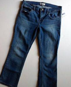 Free People Jeans, Flare Crop Stretch NWT!